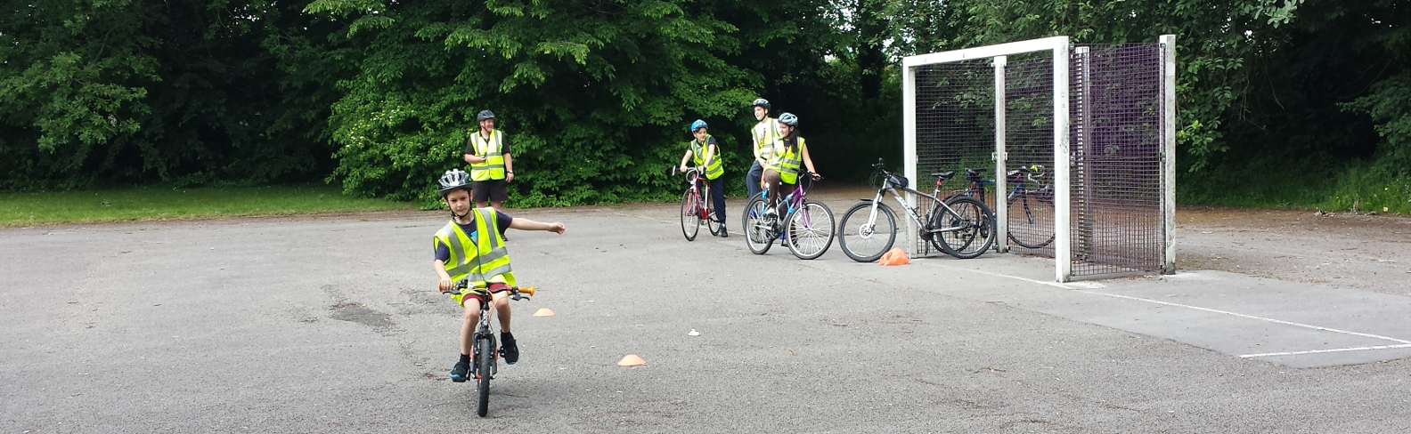Bikeability Level 1 lessons
